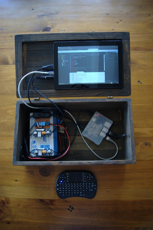 DIY Portable Touchscreen Computer Prototype